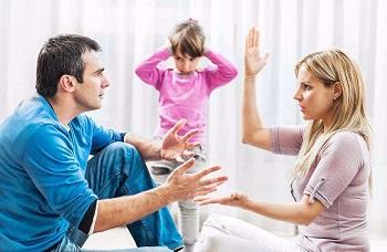 父母切记在孩子面前不要吵架?